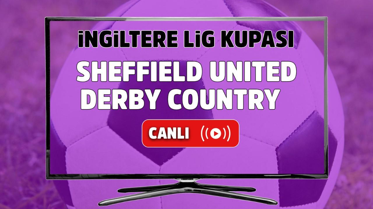 Sheffield United - Derby Country Canlı