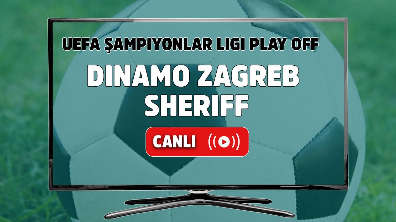 Dinamo Zagreb - Sheriff Canlı