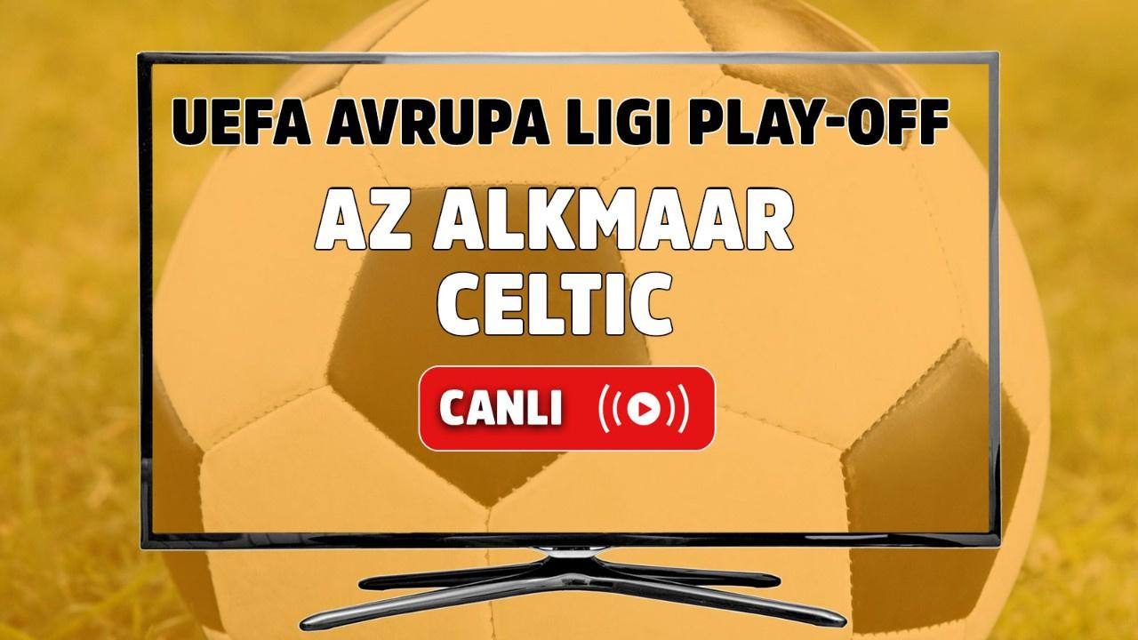 AZ Alkmaar - Celtic Canlı