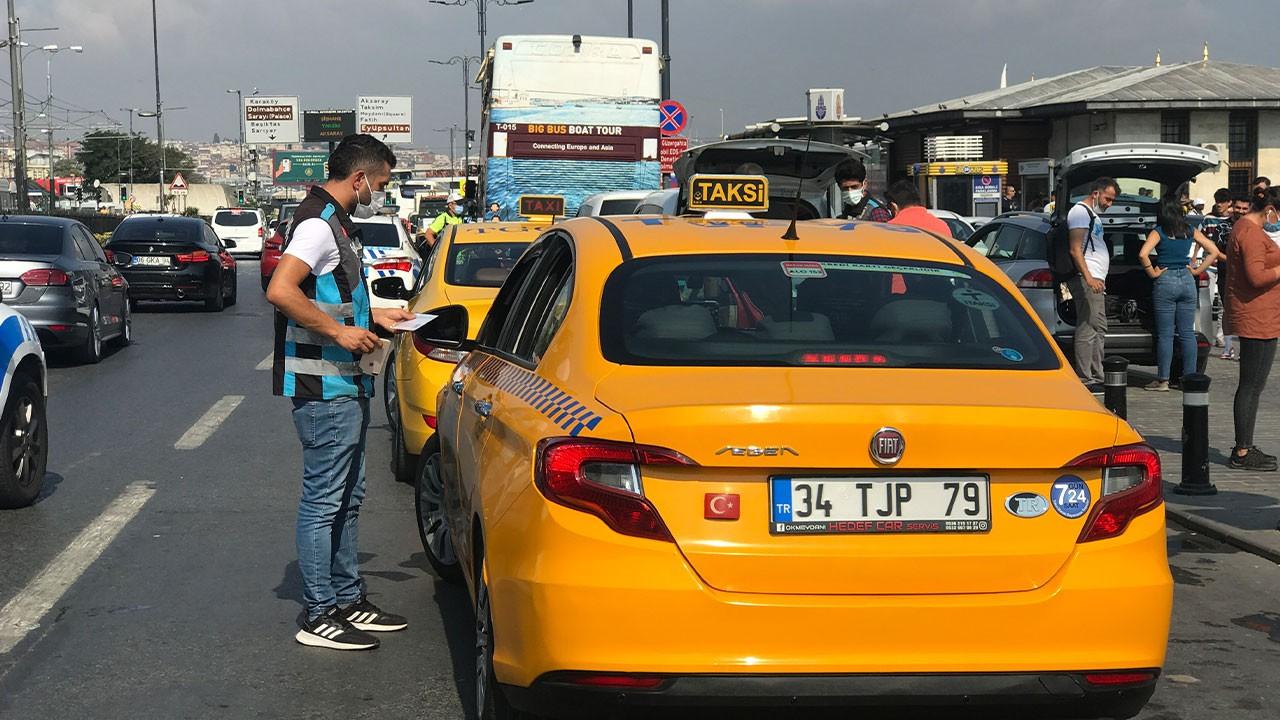 """Ceza alan taksici: """"Kesinlikle hak ediyoruz"""""""