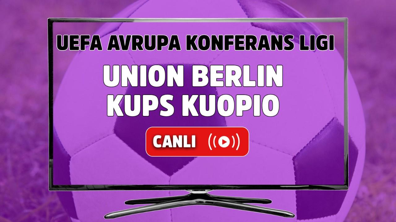 Union Berlin – KuPS Kuopio Canlı