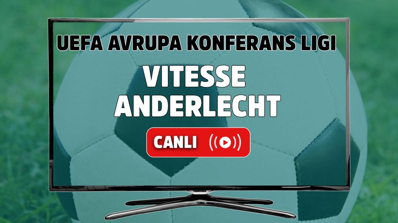 Vitesse – Anderlecht Canlı