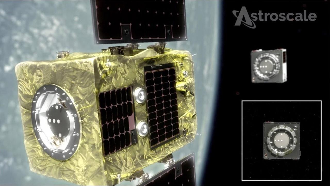 Bir ilk gerçekleşti... Uzayda çöp avına çıkacak!