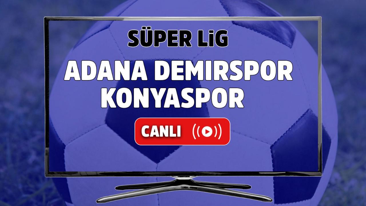 Adana Demirspor – Konyaspor Canlı