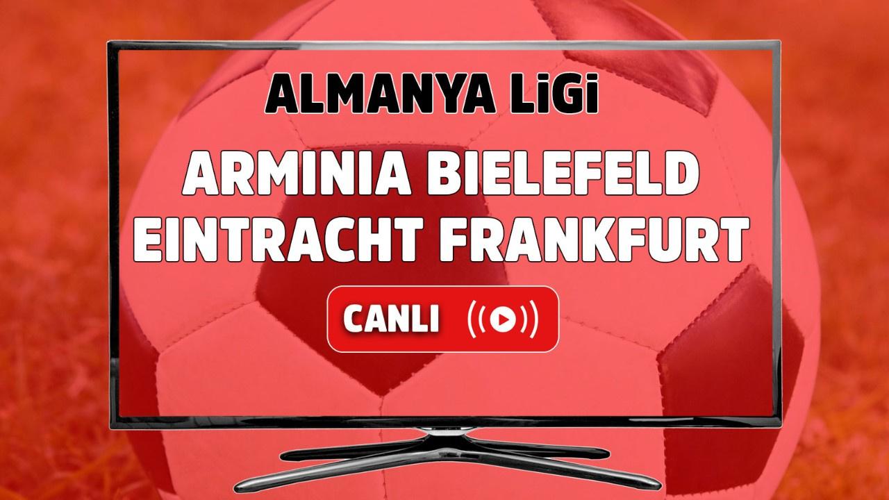 Arminia Bielefeld – Eintracht Frankfurt Canlı