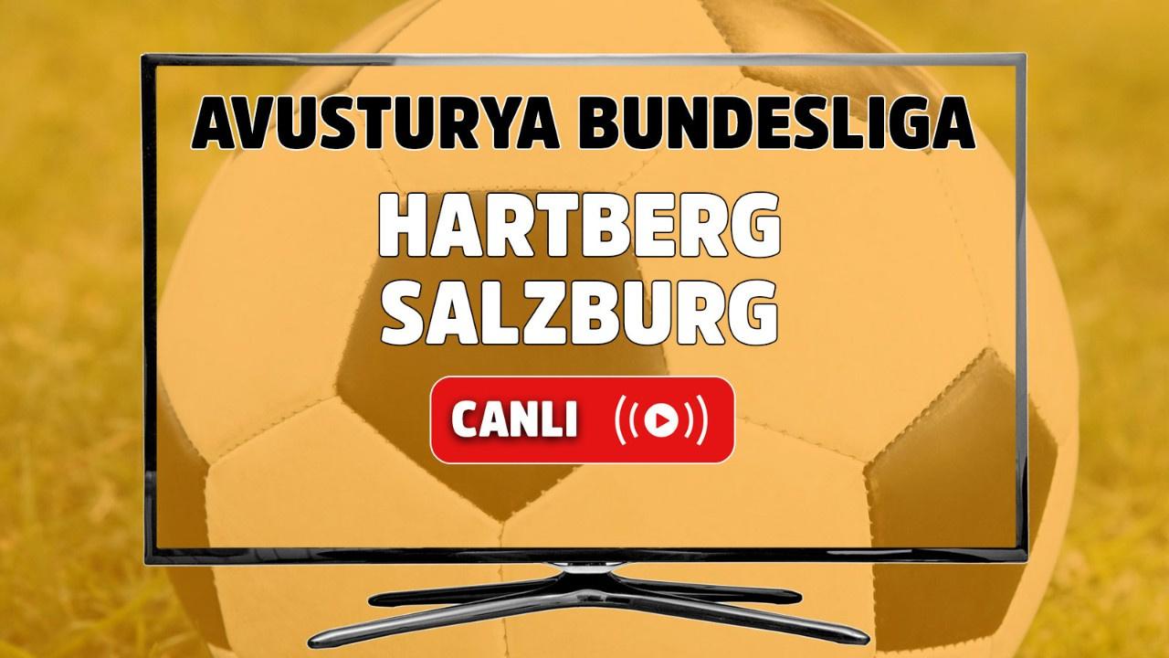 Hartberg - Salzburg Canlı