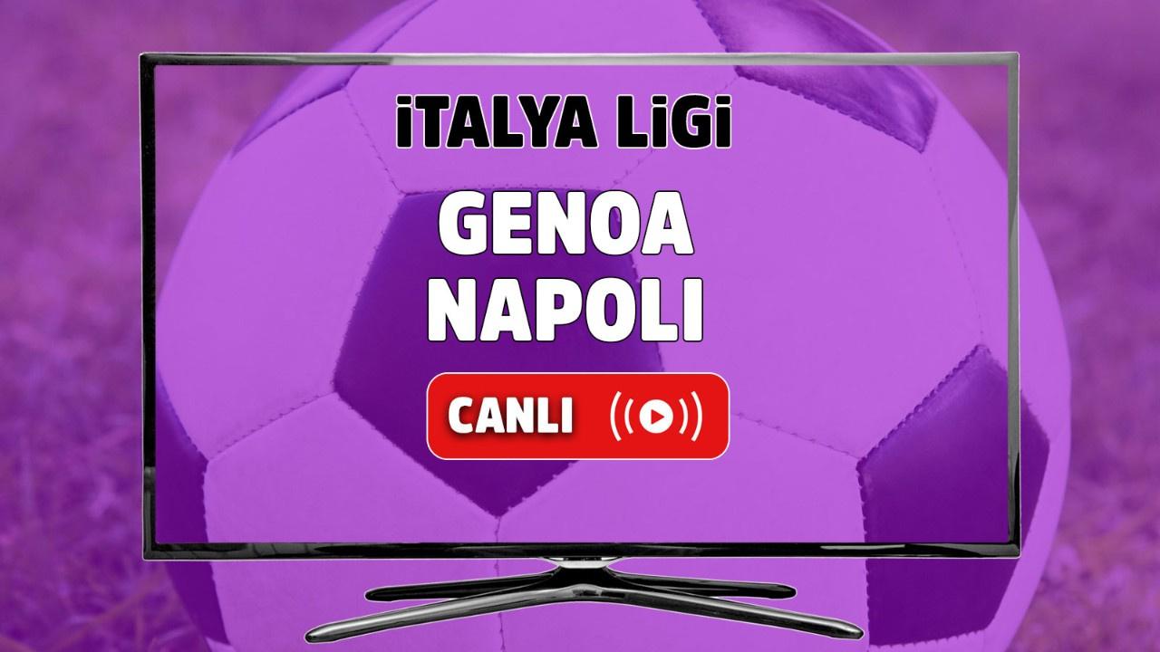 Genoa - Napoli Canlı