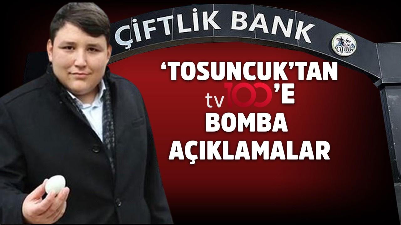 'Tosuncuk' ilk kez tv100'e konuştu