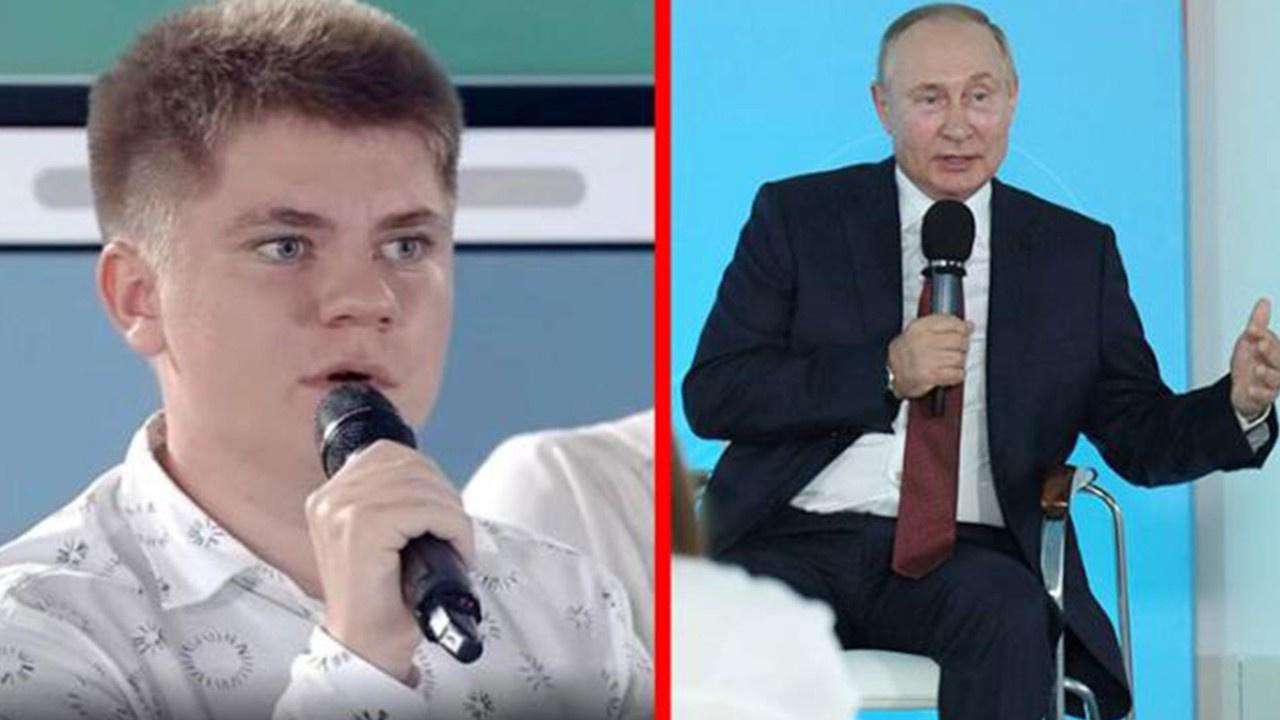 """Rusya bu çocuğu konuşuyor! """"O savaş 21 yıl sürdü"""""""