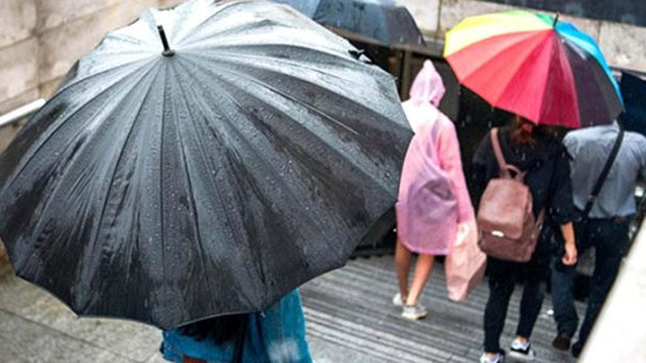 Meteoroloji'den 6 il için uyarı! Şiddetli yağış