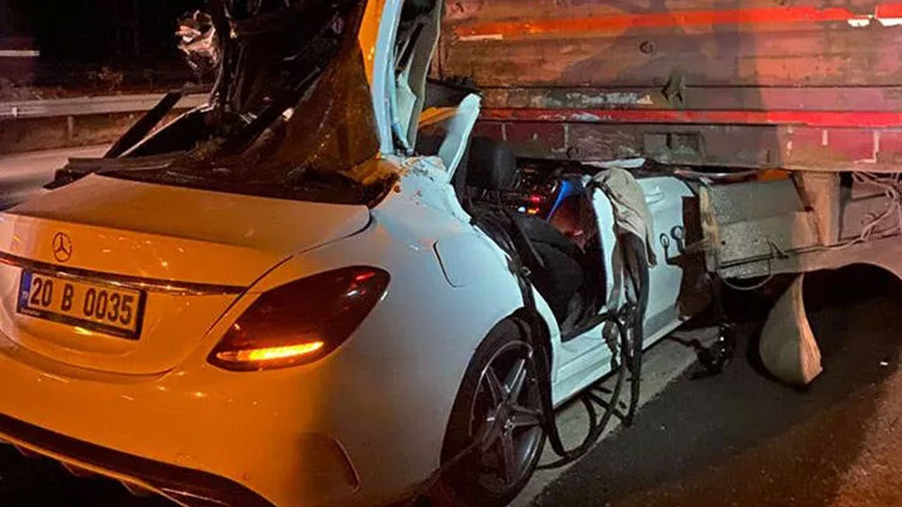 Korkunç kaza! 3 kardeşten 2'si hayatını kaybetti