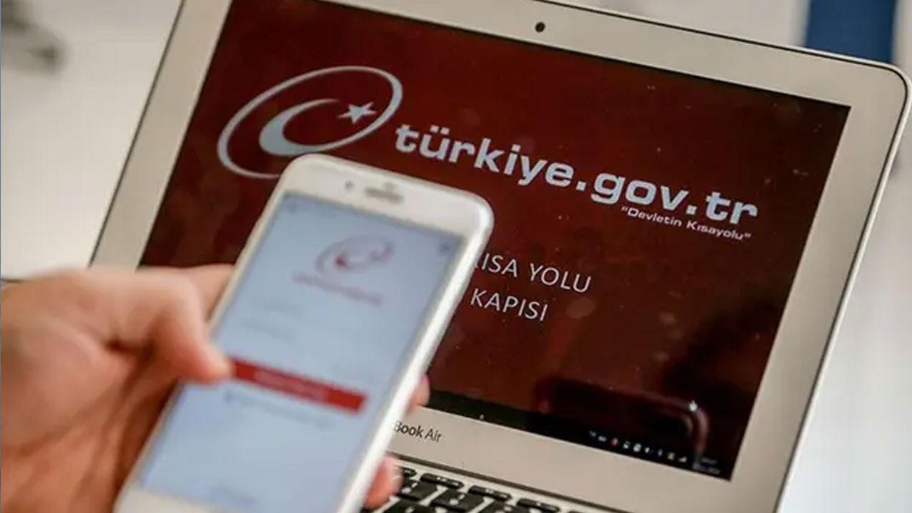 e-Devlet'te bir yeni uygulama daha!