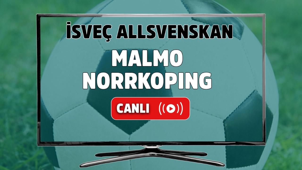 Malmö - Norrköping Canlı