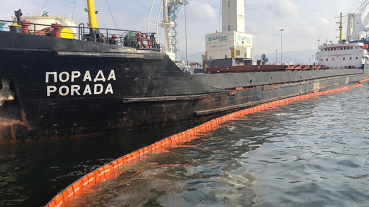 Körfezi kirleten gemiye rekor ceza