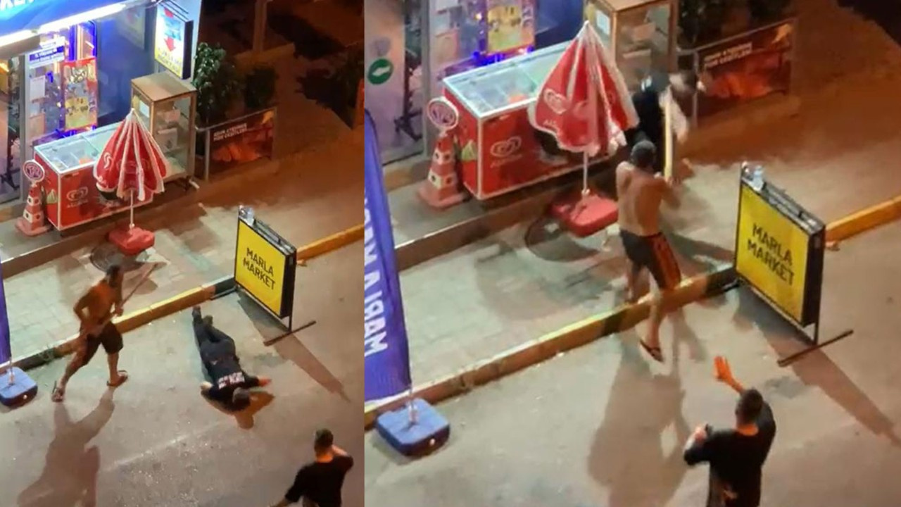 Antalya'da korkunç sopalı 'gürültü' kavgası
