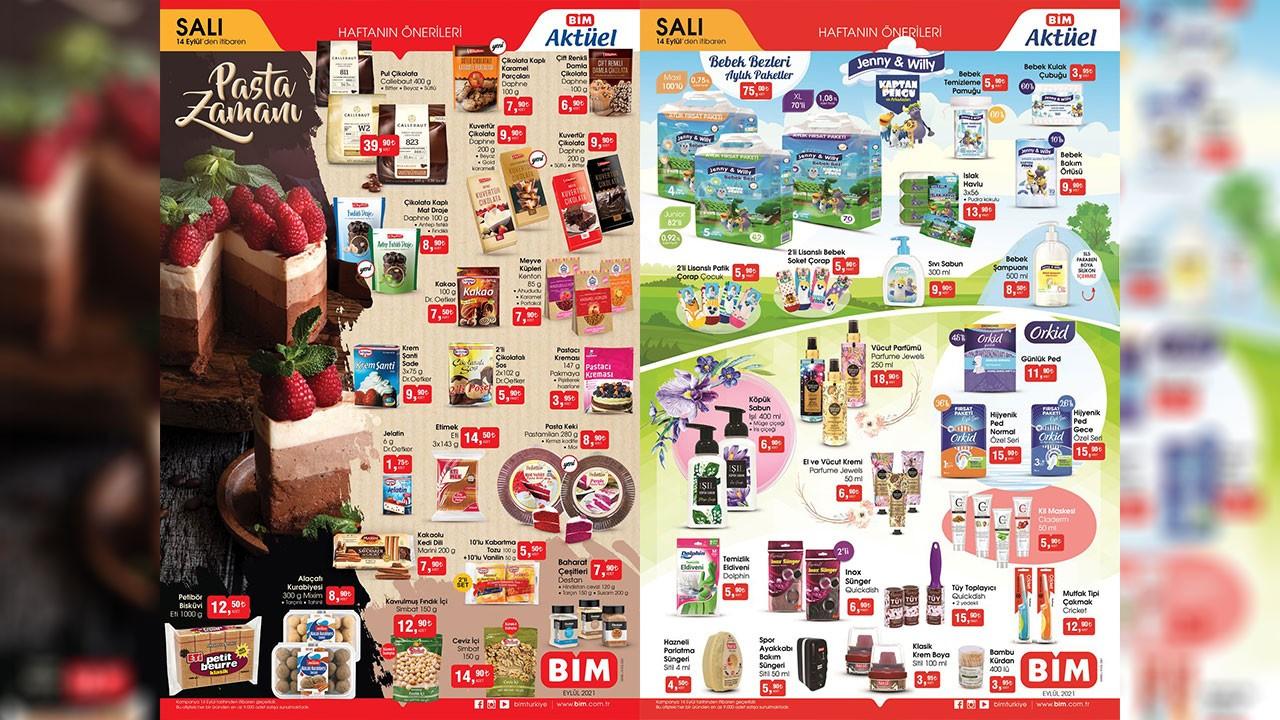 BİM 14 Eylül aktüel ürünler! 14 Eylül BİM kataloğu salı fiyat listesi, bim katalog 2021, bim aktüel 2021