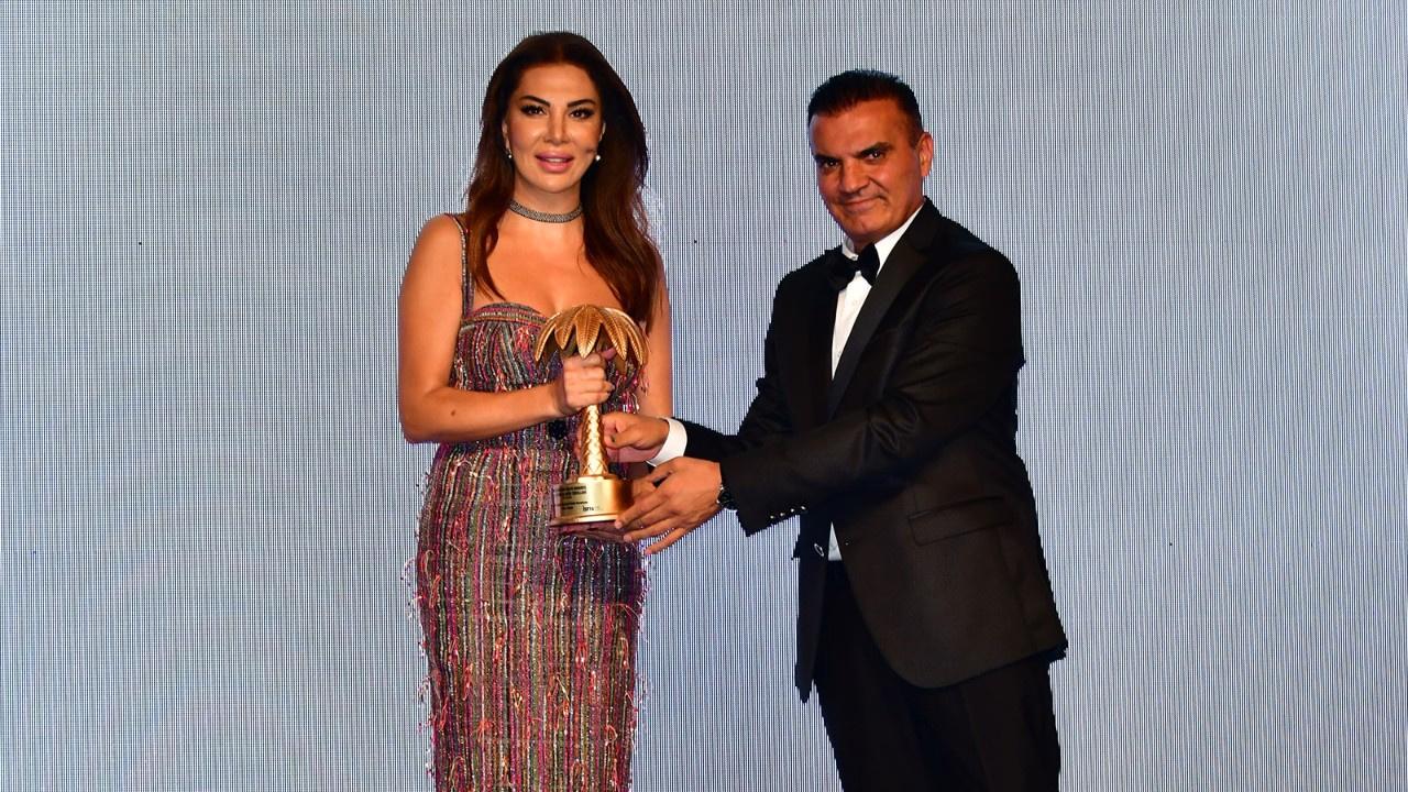 7. Golden Palm Awards ödülleri törenine Ebru Yaşar damgası