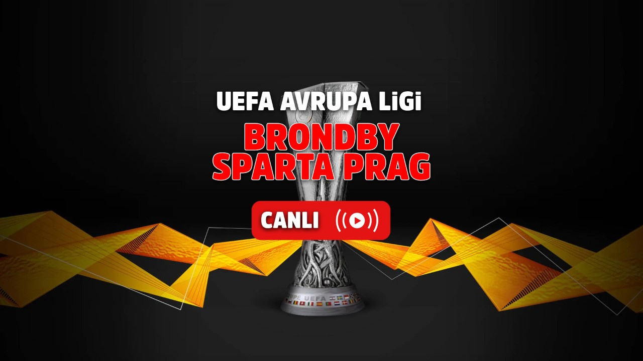 Brondby - Sparta Prag Canlı