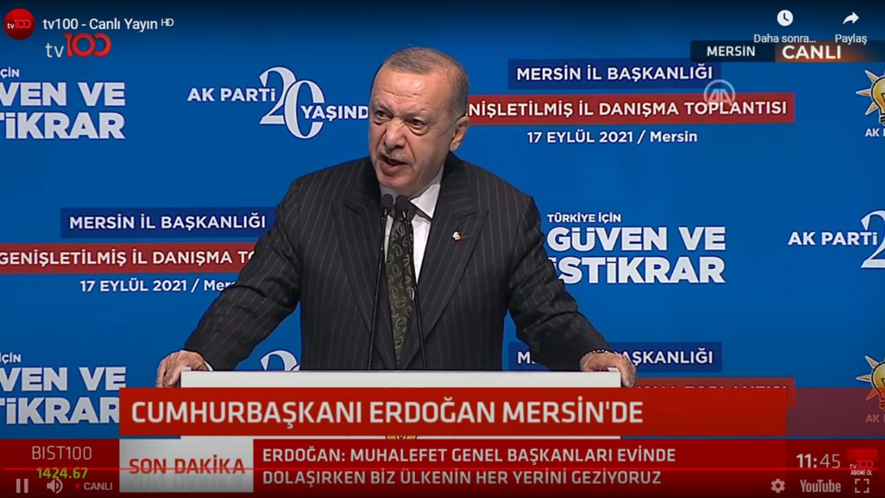 Erdoğan'dan muhalefete Z kuşağı çıkışı