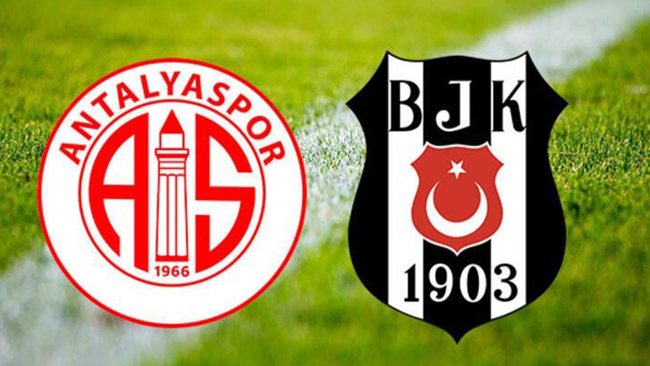 Antalyaspor Beşiktaş maçı ne zaman, saat kaçta, hangi kanalda canlı yayınlanacak?