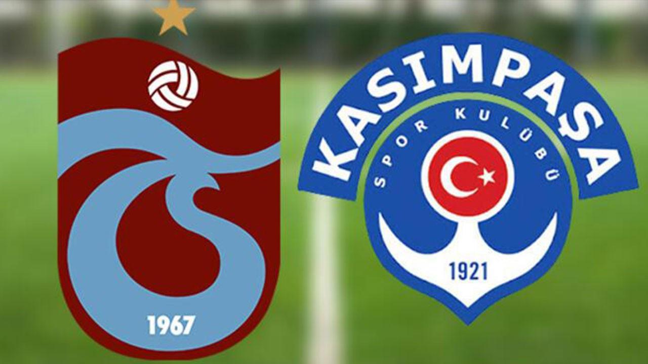 Kasımpaşa Trabzonspor maçı ne zaman, saat kaçta, hangi kanalda canlı yayınlanacak?