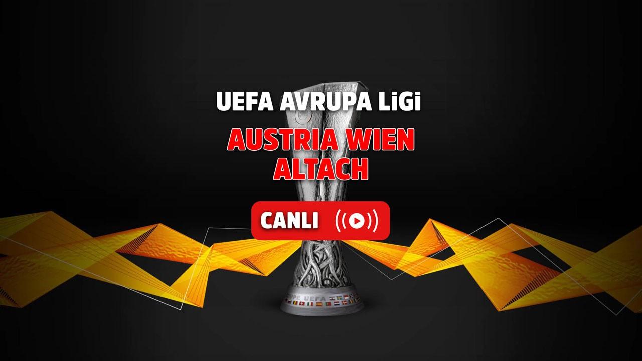 Austria Wien-Altach Canlı
