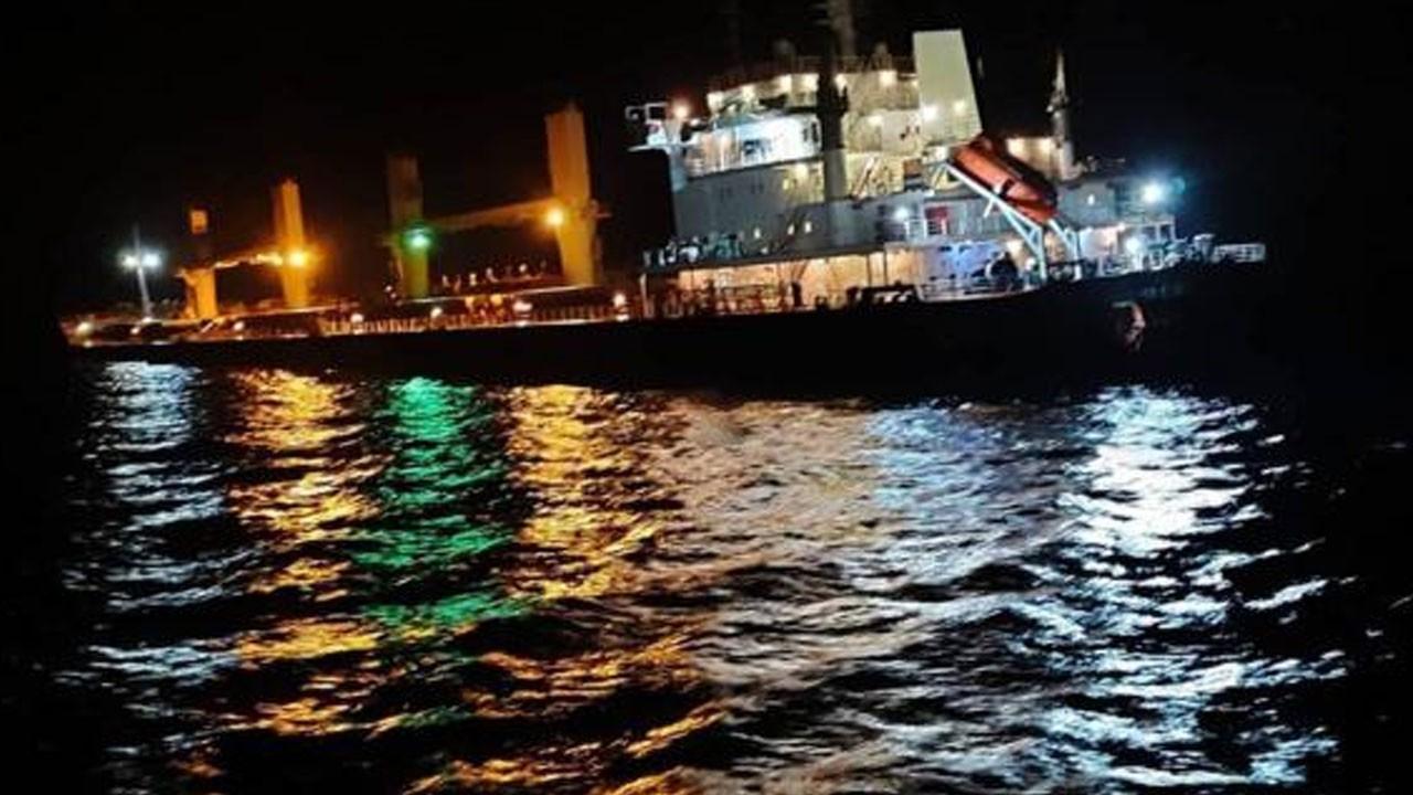 Çanakkale'de gemi kazası!