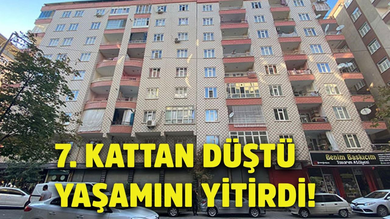 Diyarbakır'da 7'inci kattan düşen 12 yaşındaki kız yaşamını yitirdi