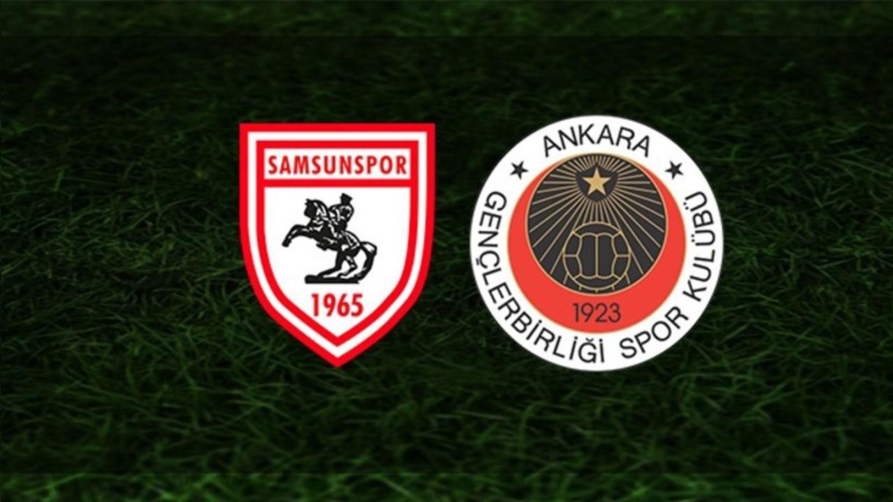 Samsunspor-Gençlerbirliği Canlı maç izle