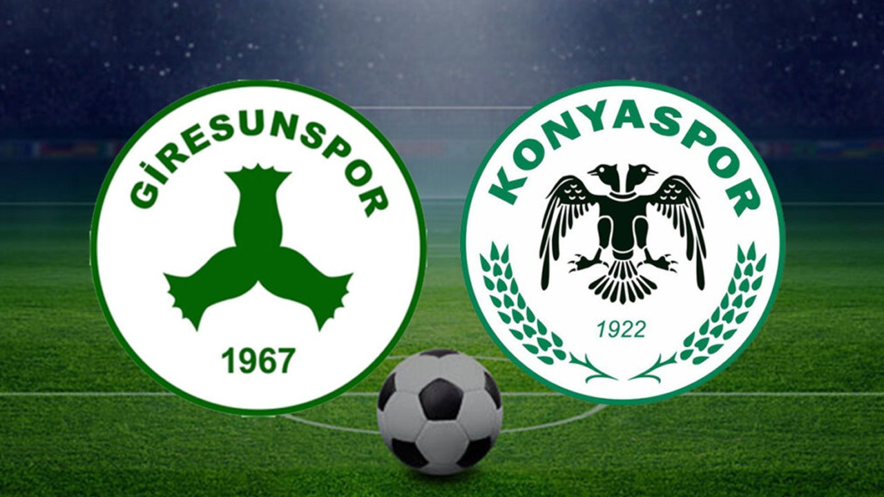 Giresunspor-Konyaspor Canlı maç izle