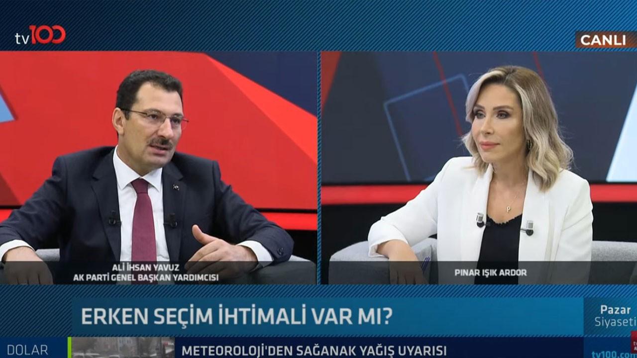 Ali İhsan Yavuz'dan erken seçim açıklaması