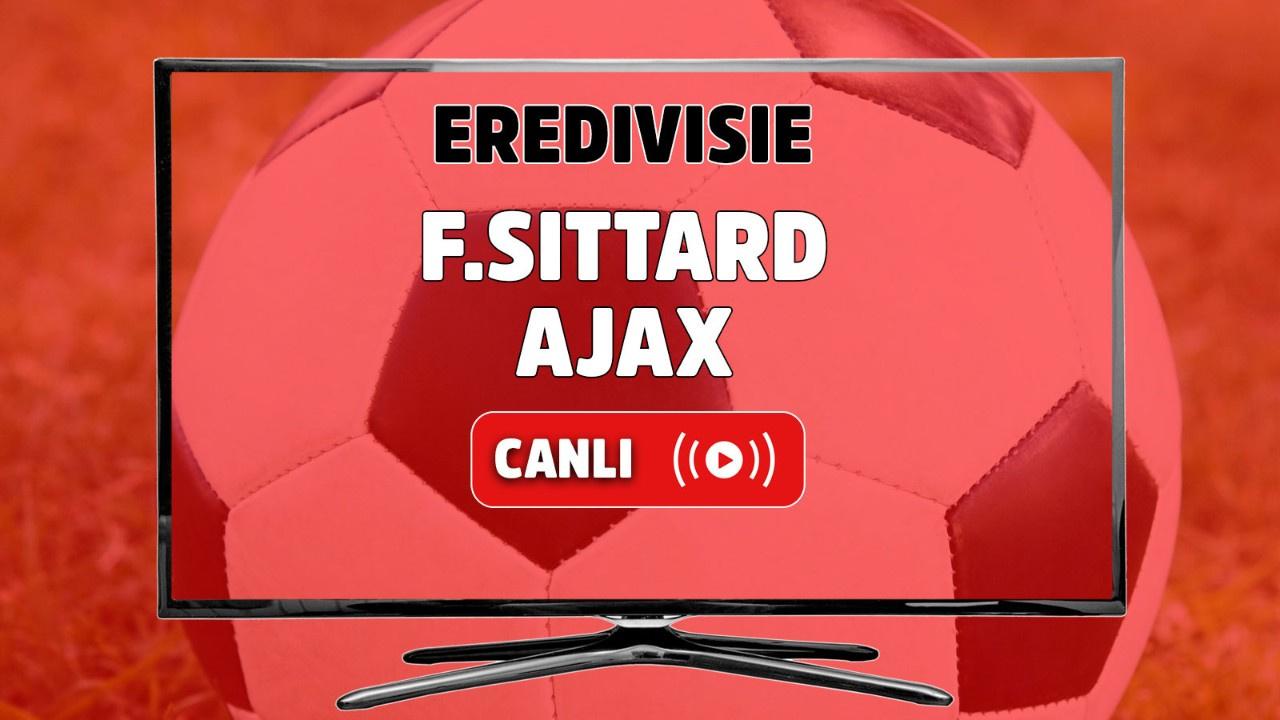 F. Sittard-Ajax Canlı maç izle