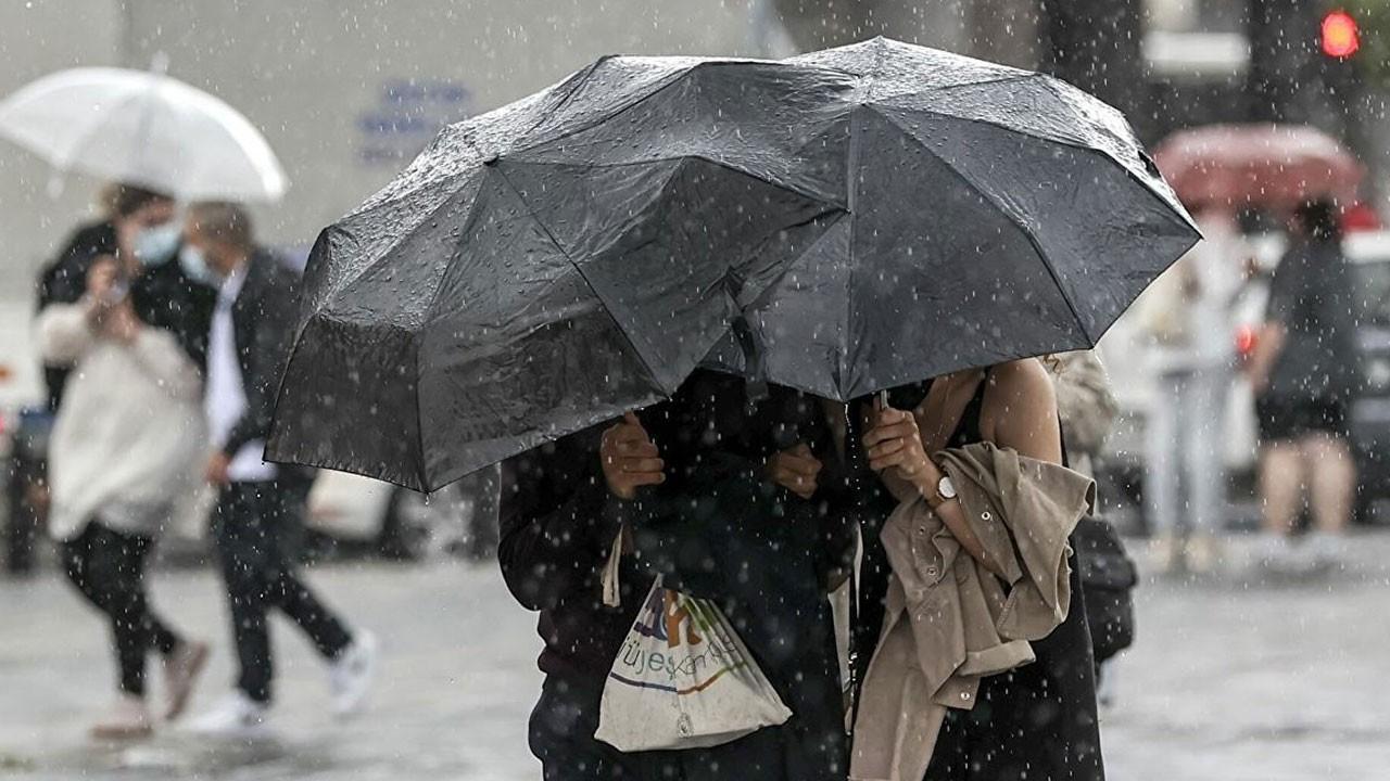 Meteoroloji  il il uyardı! Sağanak yağış geliyor!