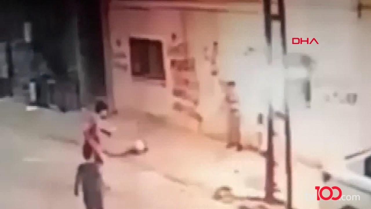Sokakta top oynayan çocuk ölümden döndü!