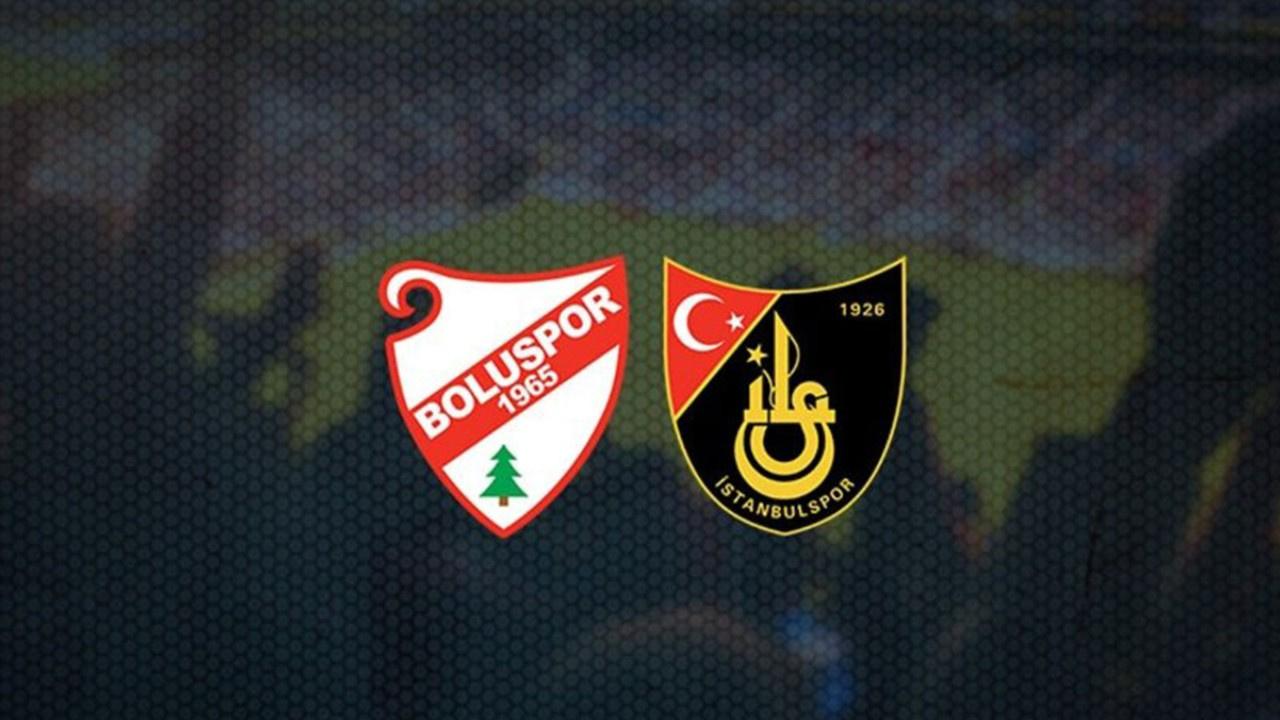 Boluspor-İstanbulspor Canlı maç izle