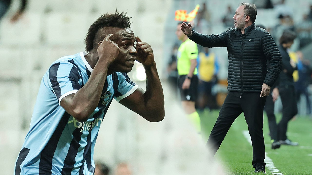 'Beyni yok' demişti; Balotelli'nin gol sevinci...