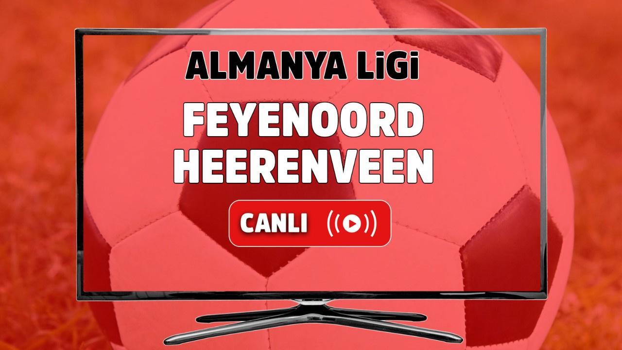 Feyenoord-Heerenveen Canlı maç izle