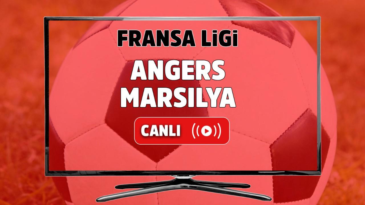 Angers – Marsilya Canlı maç izle
