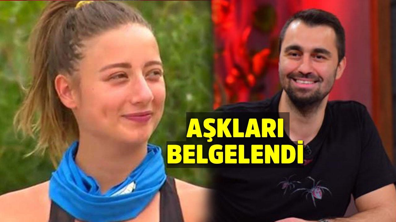 Aleyna Kalaycıoğlu sunucu aşkıyla böyle yakalandı!