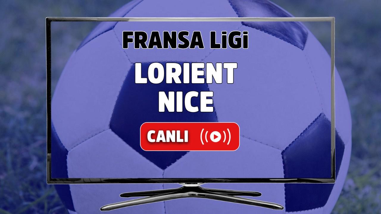 Lorient – Nice Canlı maç izle