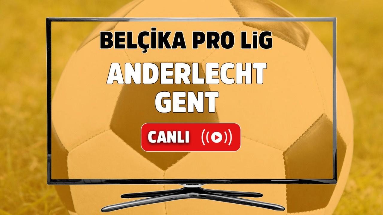 Anderlecht – Gent Canlı maç izle