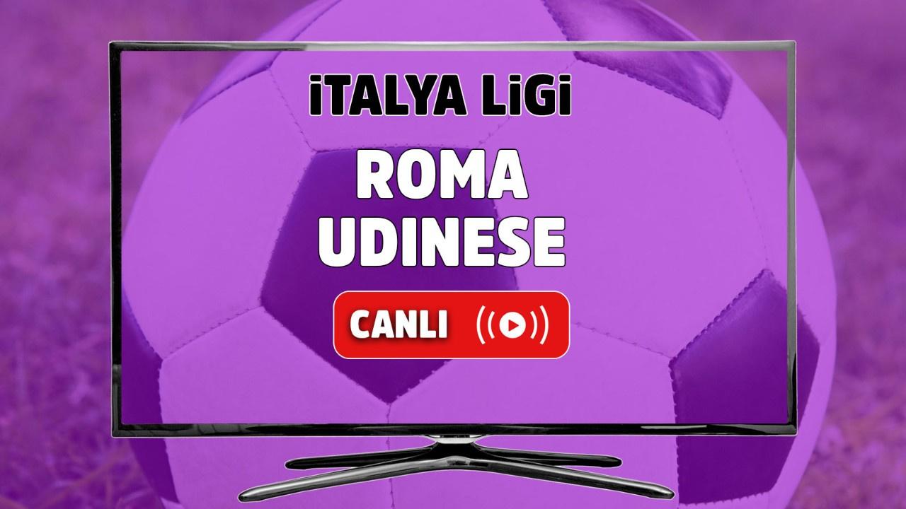 Roma – Udinese Canlı maç izle