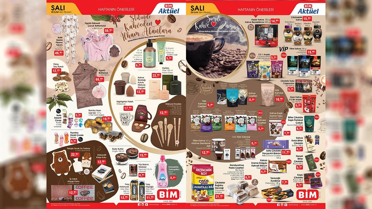 BİM aktüel ürünler kataloğu yayınlandı! BİM 28 Eylül Salı 2021 aktüel ürünler indirimli fiyat listesi