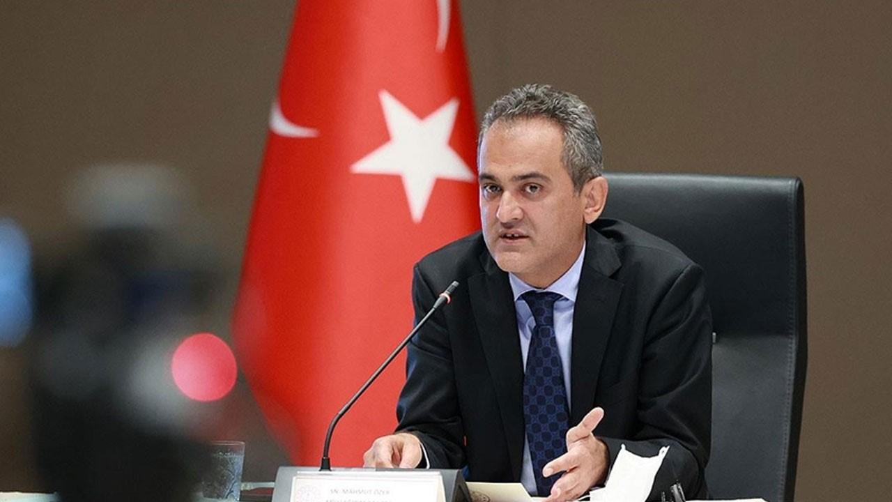 Milli Eğitim Bakanı Özer'den flaş açıklama!