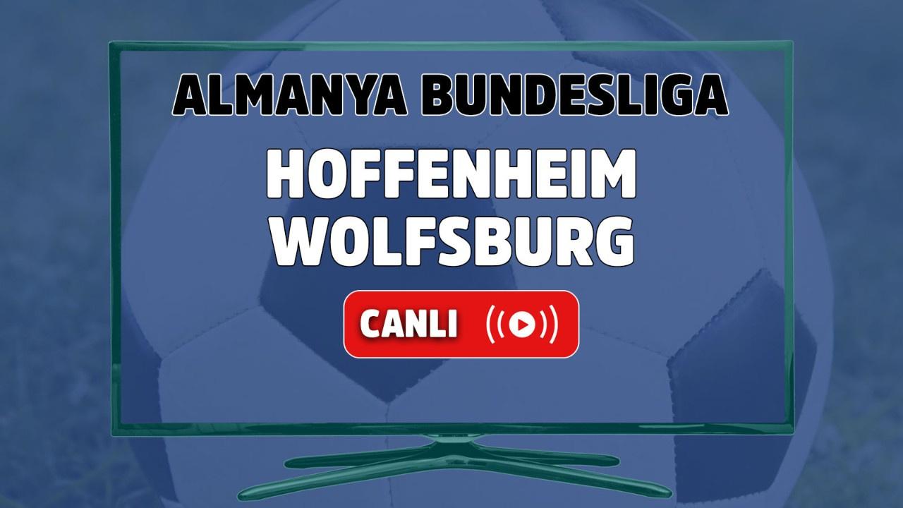Hoffenheim-Wolfsburg Canlı maç izle