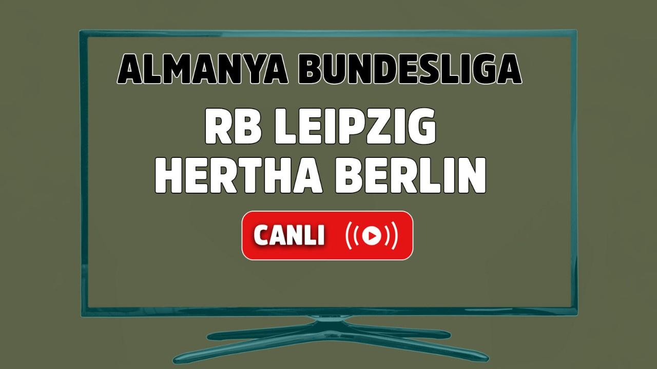 RB Leipzig- Hertha Berlin Canlı maç izle