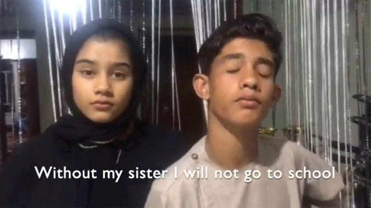 Afgan kız çocuklarıyla dayanışma büyüledi!