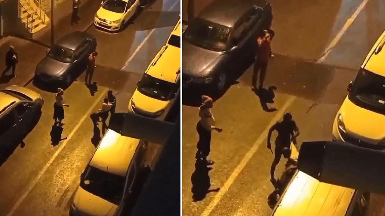 Sokak ortasında öldüresiye darp ettiler