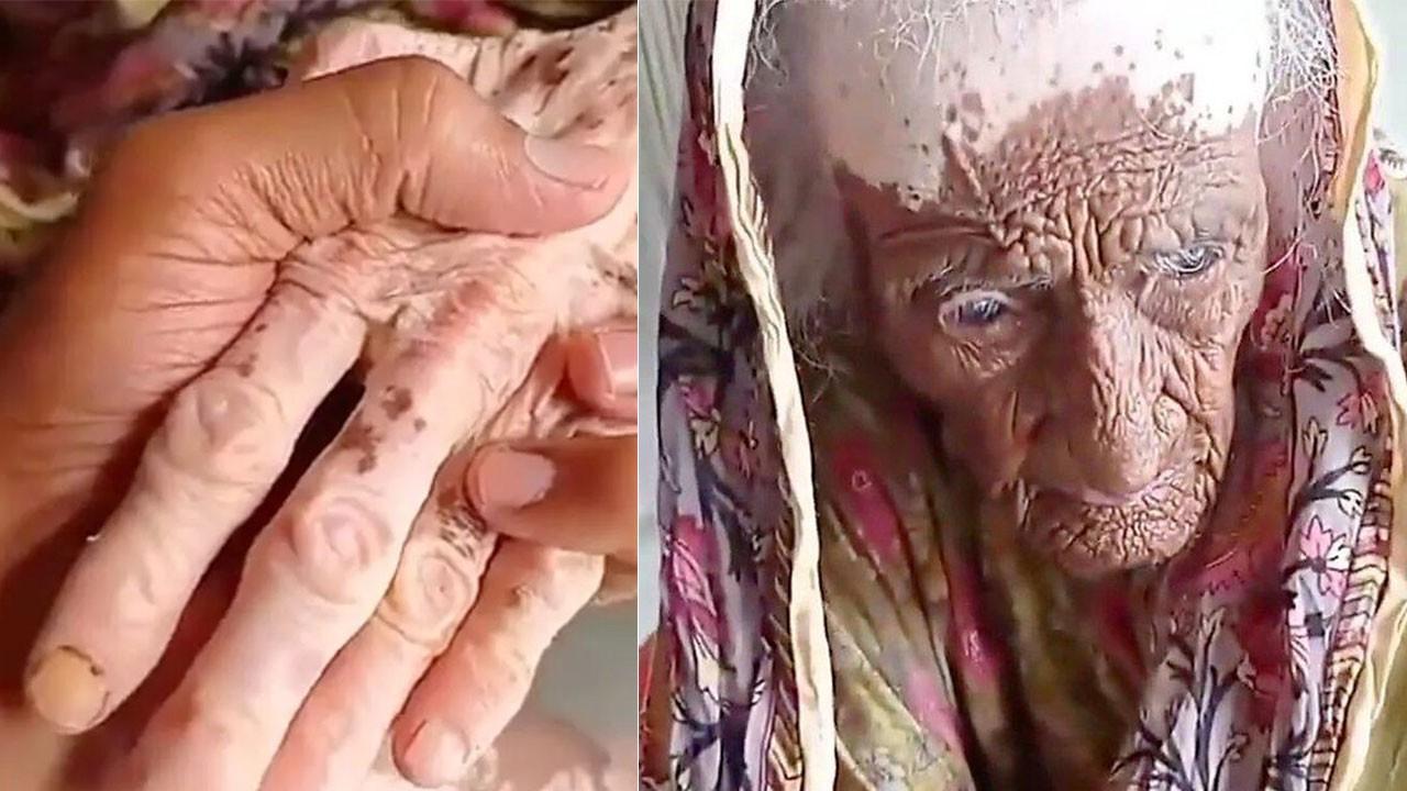300 yaşındaki kadın sosyal medyada olay oldu