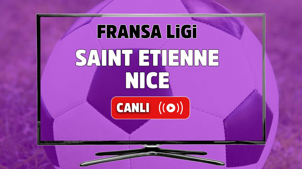 Saint Etienne – Nice Canlı izle